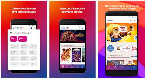 Tata Sky Mobilefor Windows