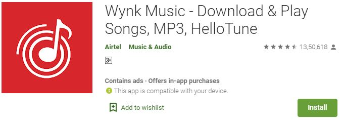 Wynk Music for Windows