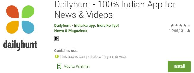 Download Dailyhuntfor Windows