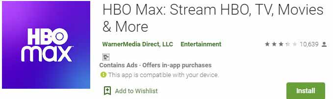 Download HBO Max For Windows PC