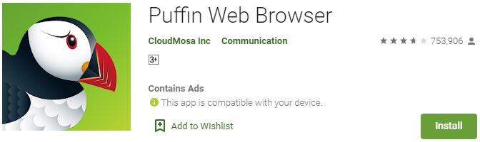 DownloadPuffin Web Browser For Windows