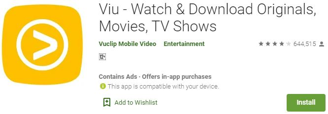 Download Viu for windows PC