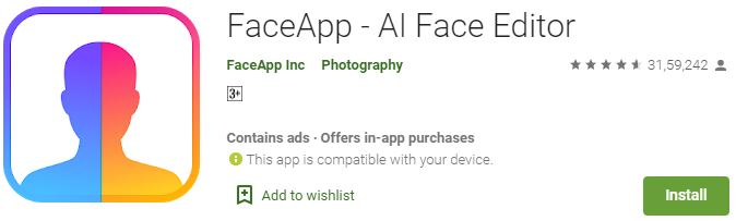 Download FaceApp For Windows