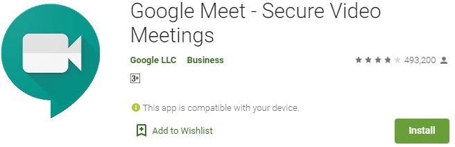 Download Google Meet For Windows