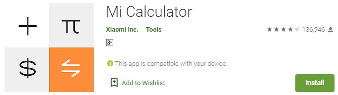 How to Download Mi Calculator For Windows PC