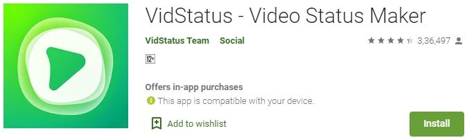 How to DownloadVidstatus For Windows PC