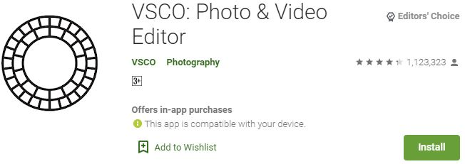 How to download VSCO for windows PC