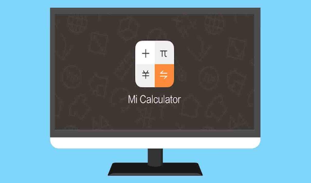 Mi Calculator For PC Free download