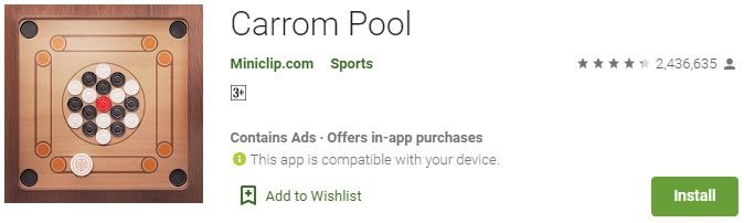 Download Carrom Pool For Windows