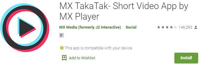 Download MX TakaTak For Windows