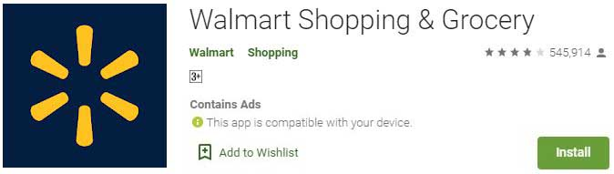 Walmart shopping for PC