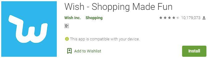 Wish Shopping Made Fun For Windows