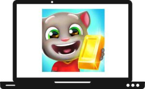 Download Talking Tom Gold Run For PC
