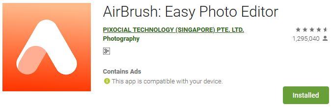 download AirBrushfor Windows PC