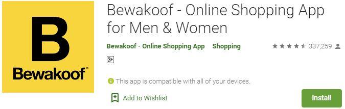 Download Bewakoof Online Shopping App For Windows