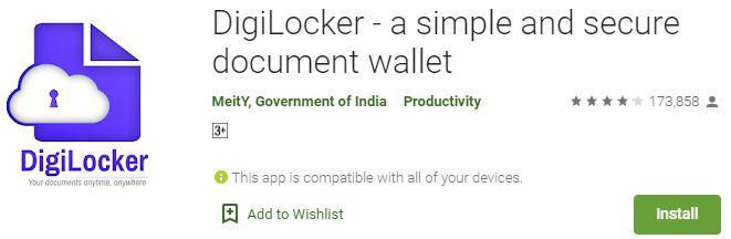 Download DigiLocker For Windows PC