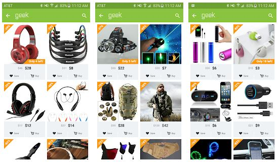 Download Geek - Smarter Shopping For Mac