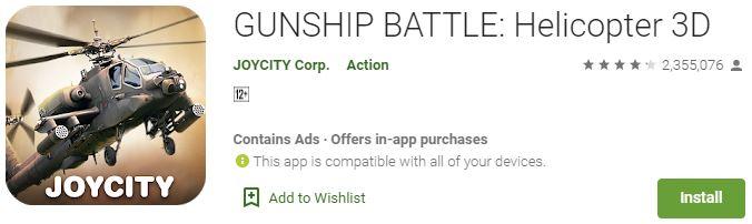 Download Gunship Battle For Windows