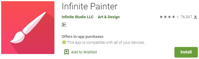 Download Infinite Painter For Windows