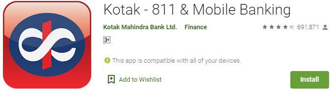 DownloadKotak - 811 & Mobile Banking For Windows