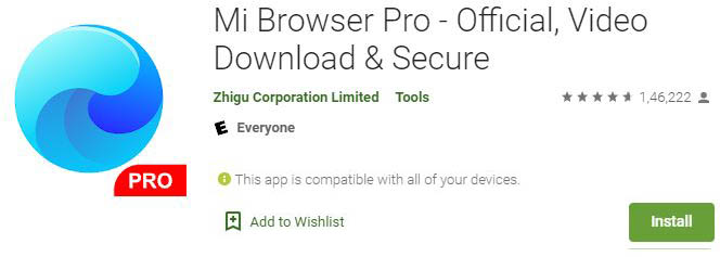 Download Mi Browser Pro For Windows