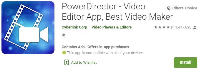 Download PowerDirector for Windows