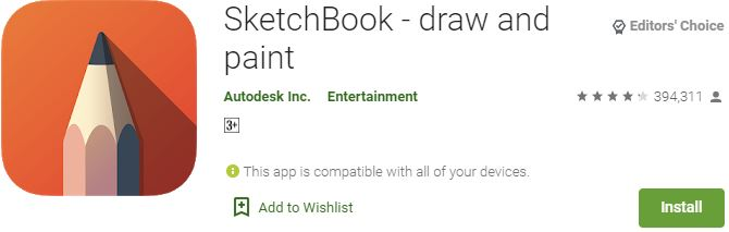 Download SketchBook For Windows