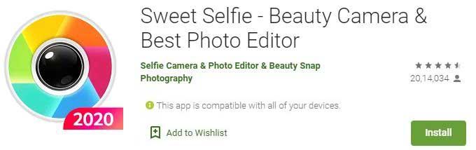 Download Sweet Selfie For Windows