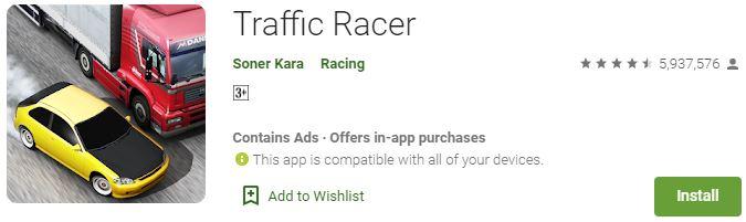 Download Traffic Racer For Windows
