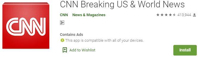 Download CNN App For Windows