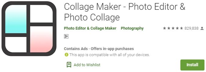 Download Collage Maker Photo Editor For Windows