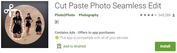 Download Cut Paste Photo Seamless Edit For Windows