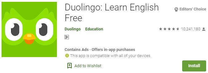 Download DuolingoFor Windows
