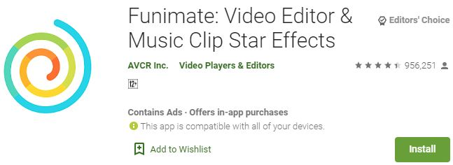 Download Funimate Video Editor For Windows