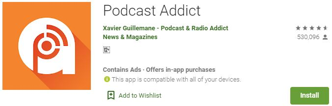 Download Podcast Addict For Windows