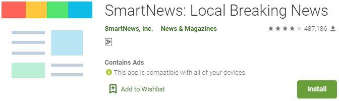 Download SmartNews For Windows