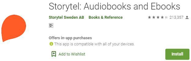 DownloadStorytel For Windows