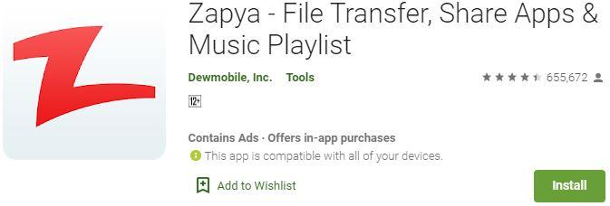 DownloadZapya For Windows