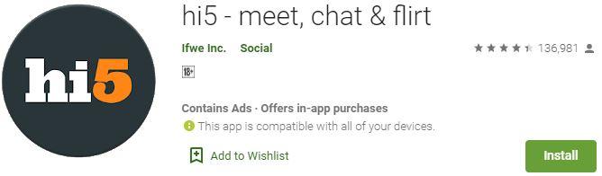 Download hi5 - meet, chat & flirt For Windows