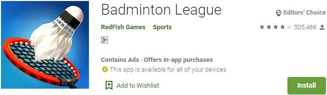 Download Badminton League For Windows