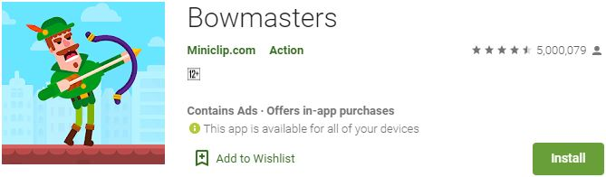 Download Bowmasters For Windows