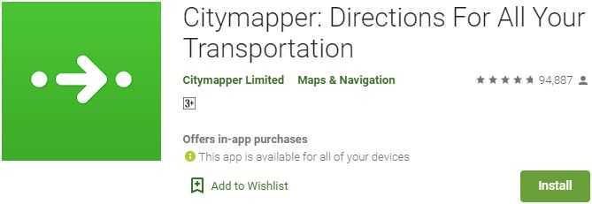 Download Citymapper For Windows