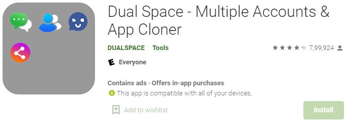 Download Dual Space For Windows