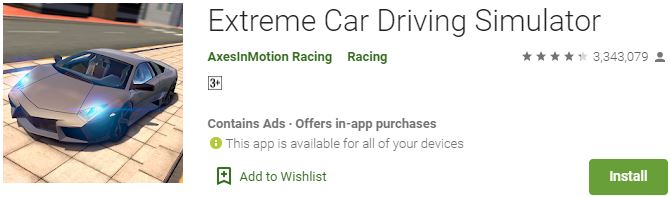 Download Extreme Car Driving Simulator For Windows