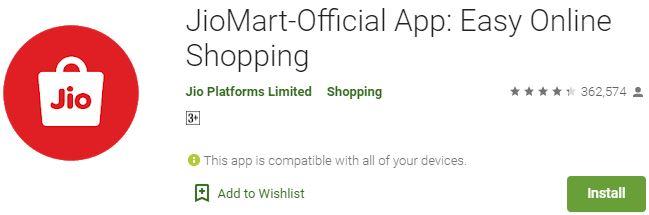 Download JioMart For Windows
