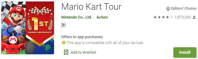 Download Mario Kart Tour For Windows