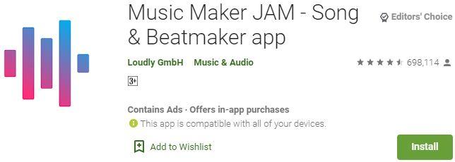 Download Music Maker JAM for Windows