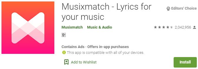 Download Musixmatch for Windows