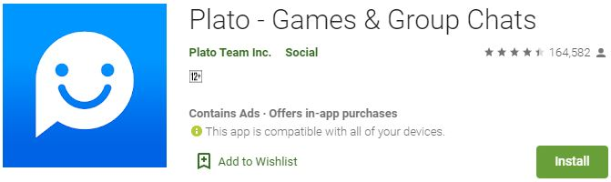 Download Plato - Games & Group Chats For Windows