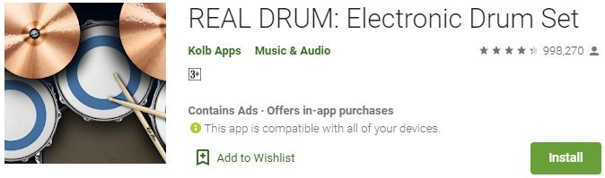 Download Real Drum For Windows